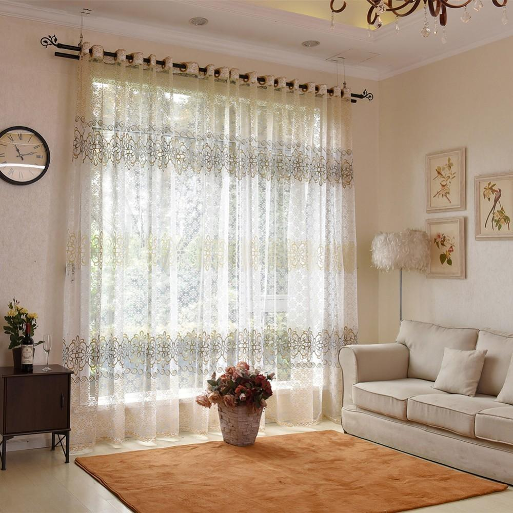 2019 europe solid curtain sheer window tulle curtains for living room kitchen modern window treatments voile curtain from jie123jie 10 59 dhgate com