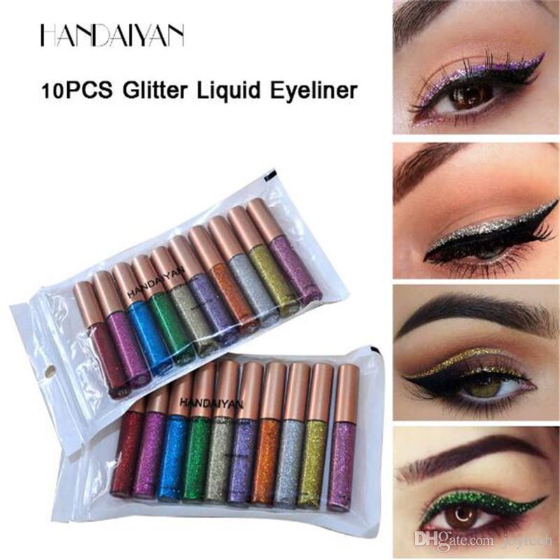 Glitter Eyeshadow Eyeliner Diamond Shimmer Metallic Pigment