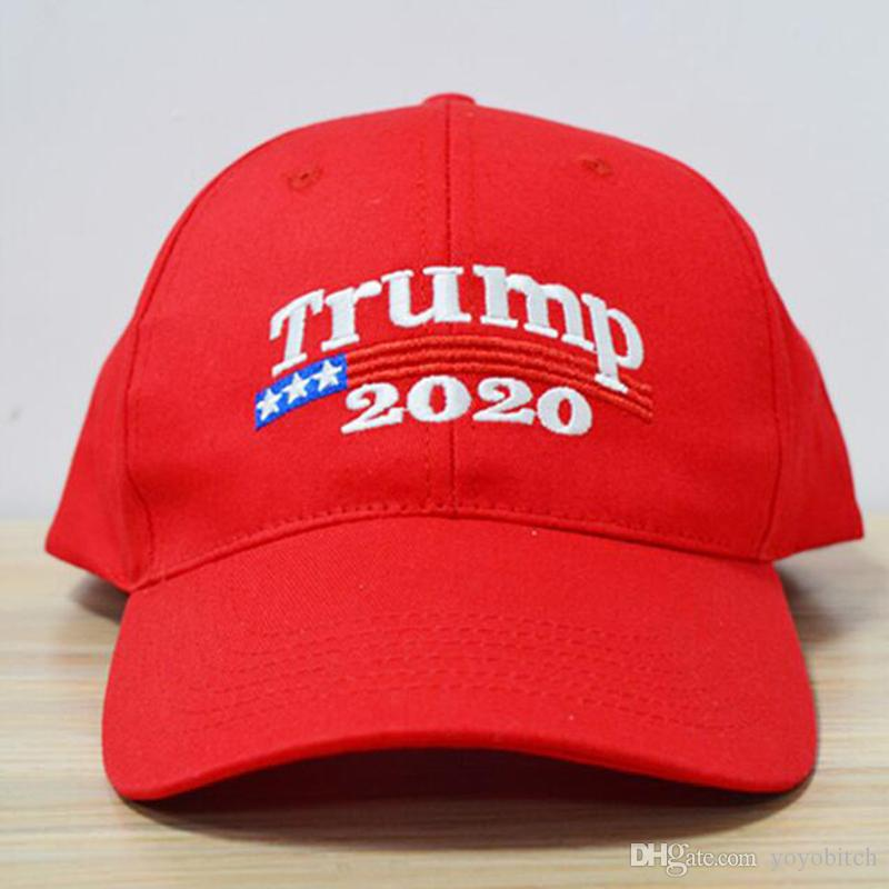 2020 Donald Trump President Make America Great Again Tailor Made Embroidery  Baseball Caps Men Women Snapback Cheap Caps Custom Fitted Hats Design Your  Own ... f362f980a0
