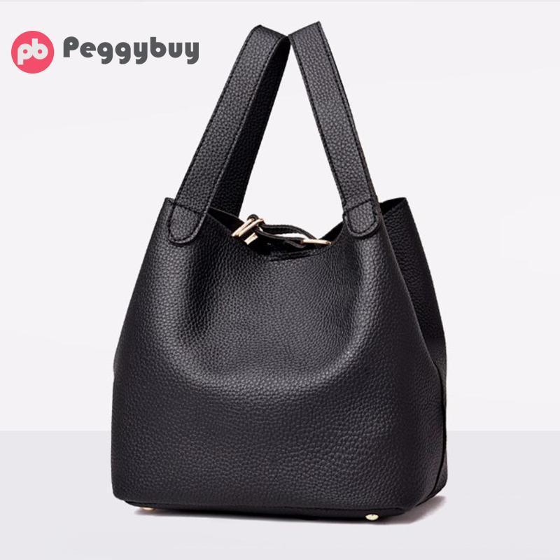 Unique Design Women S PU Leather Handbags Personality Female Solid Top  Handle Bags Fashion Casual Small Bucket Shoulder Bags Ladies Purse Designer  Purses ...