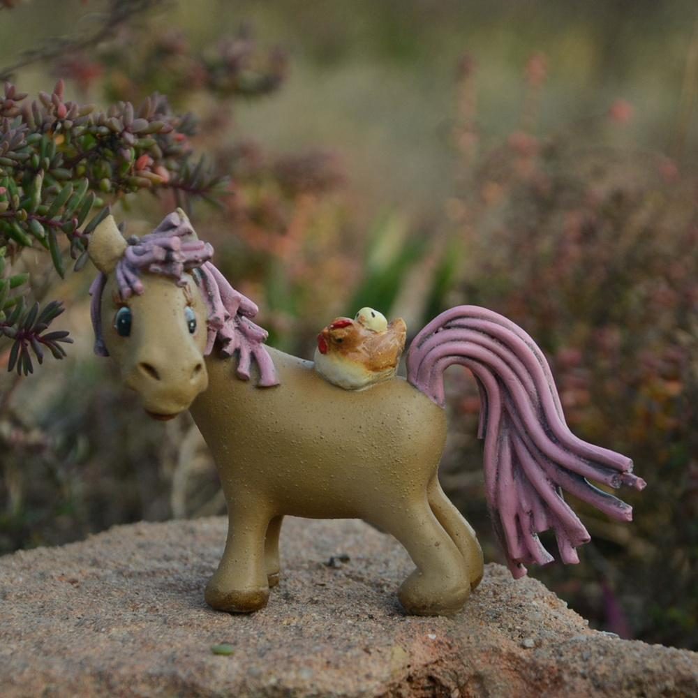 2018 Arden Ornaments Fairies Everyday Collection Pony Horse Figure ...