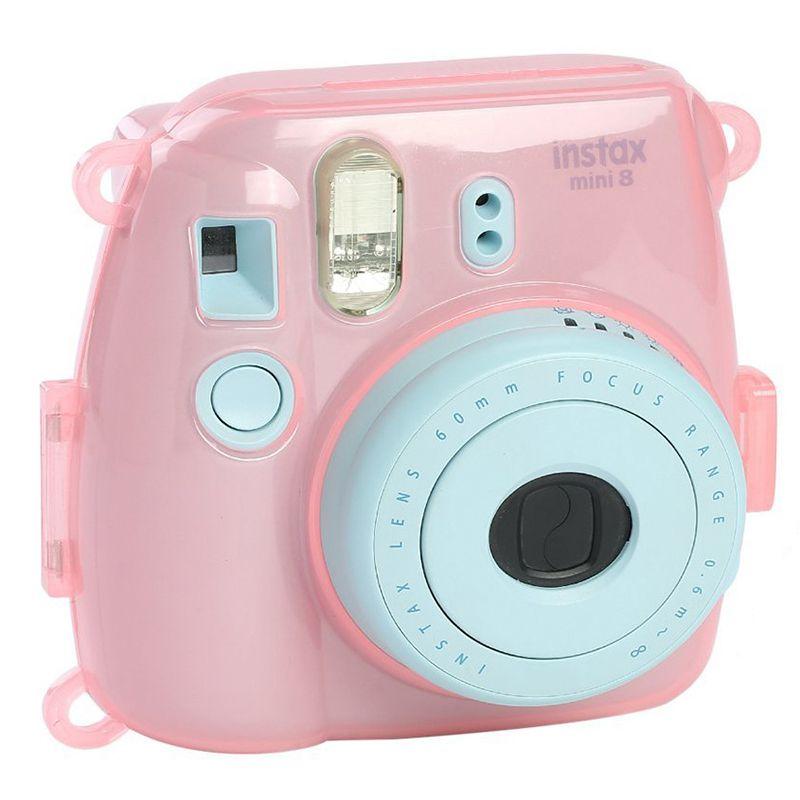 f30a64bbc2c1 2019 Camera Bag Crystal Transparent Plastic Cover Camera Protect Case For  Fujifilm Instax Mini 9 8 From Laburnum