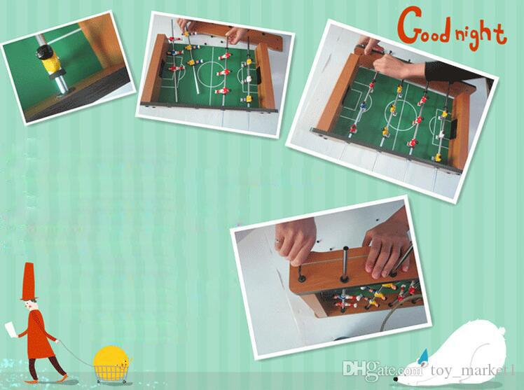 Foosball Table Competition Sized Soccer Arcade Game Room Table Football Indoor Arcade Family Sports Toys for Kids