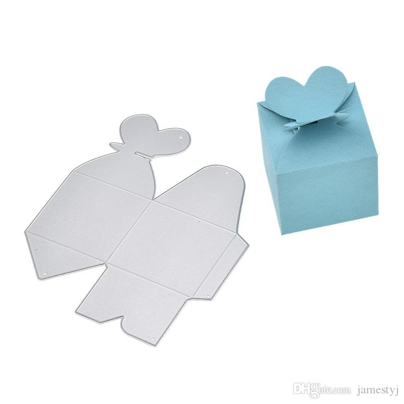 2019 Cutting Dies 3d Gift Box For Cards Scrapbooking And Paper