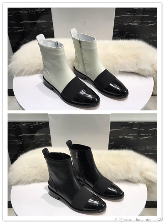 Zapatos Mujer Cuero Compre De Telas Lujo Diseñador Moda qCWawB7