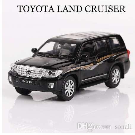 Compre Modelos De Coches 1 32 Toyota Land Cruiser Vehiculos Aleacion