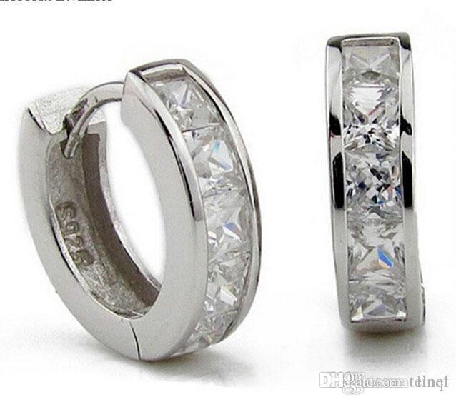 e6a512747 3ct Swiss Diamond Earrings New Jewelry 925 Sterling Silver Earrings ...