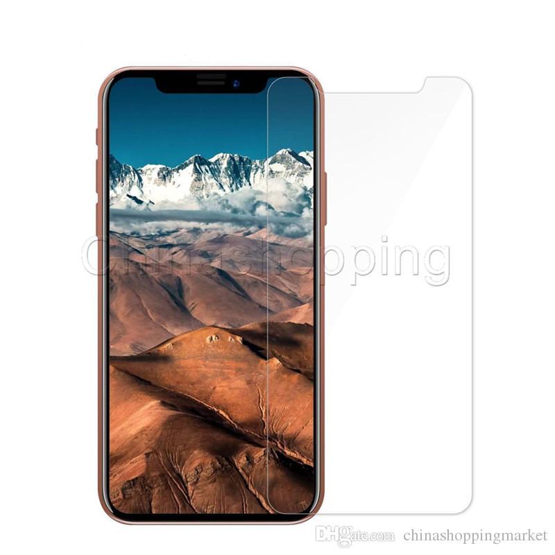 Protecteur d'écran en verre trempé anti-rayures pour iPhone 12 11 PRO XS MAX X XR 8 7 6 plus 5 Samsung Stylo 3 4 J3 J7 Prime J2 PRO J4 Plus J8