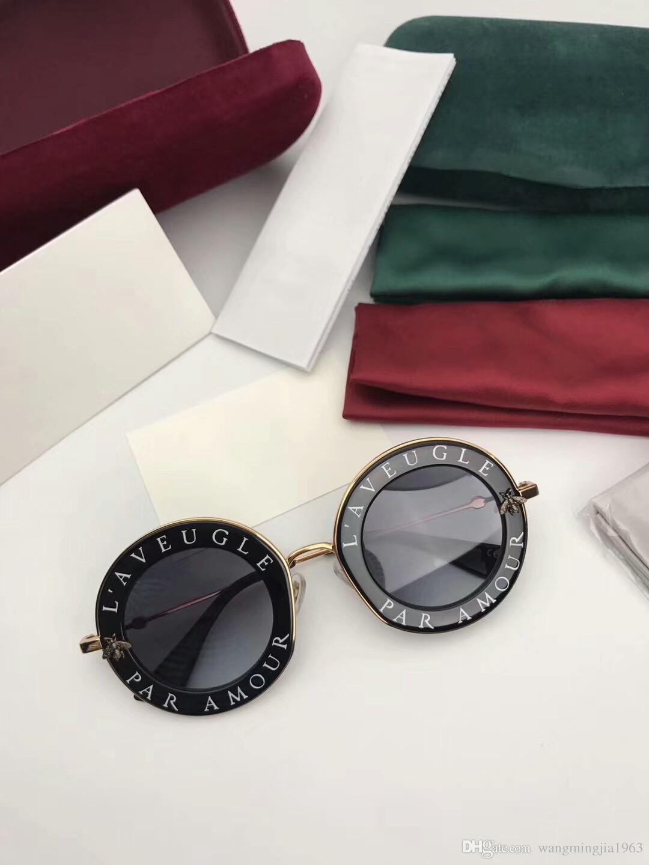 Новое Высочайшее качество 0113 Мужские Солнцезащитные очки Женщины Солнцезащитные очки Мода Стиль УВ400 Линза защищает глаза Гафас де Соль Люнетки de Soleil с коробкой