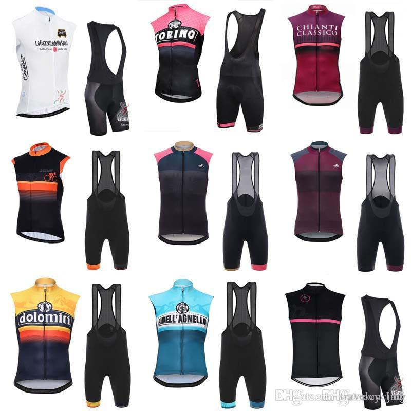 81dcbe548 2018 Tour De Italy Summer Pro Men Team Cycling Sleeveless Jersey MTB Ropa  Ciclismo Breathable Quick Dry Vest Bicycle Shorts Set C2203 Tour De Italy  Cycling ...