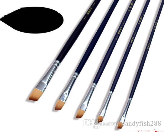Boyama Malzemeleri Naylon su tozu kalem eğik tepe su yağlıboya fan suluboya kanca kalem