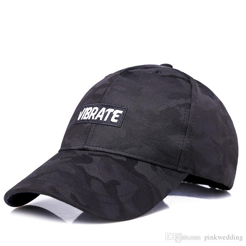 Popular Camouflage Baseball Caps For Men Women High Street Skate Boy ... c9a3899342f
