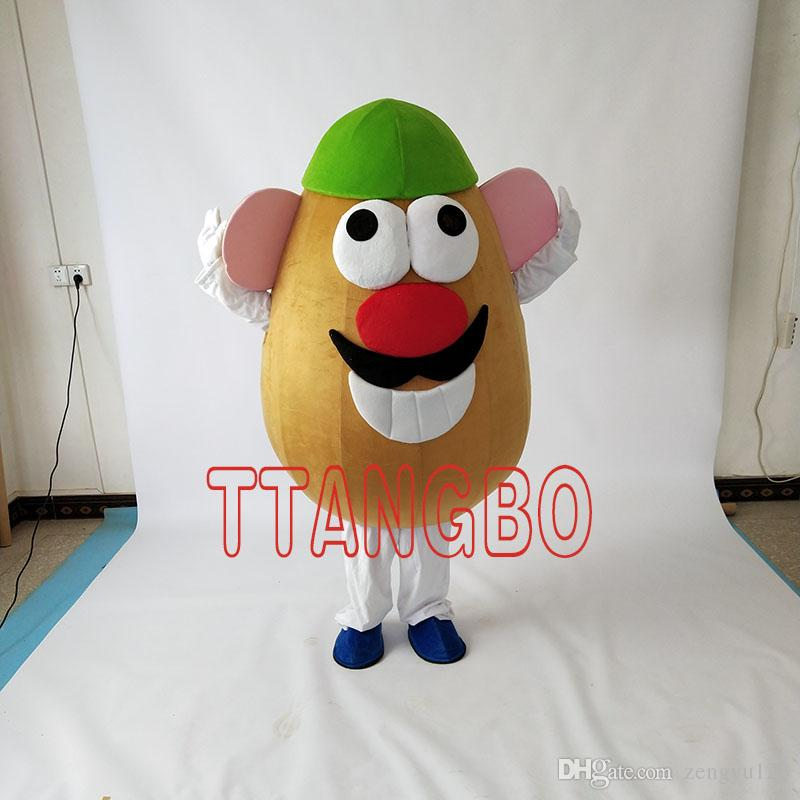 hot sale mr potato head mascot costume adult character halloween christmas mascot costume leprechaun costumes costume sale from zengyu123 12061 dhgate