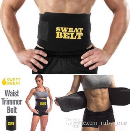 0a630732b1 Sweet Sweat Waist Trimmer Belt Unisex Waist Trainer Trimmer Belts Body Hot  Shapers Cincher Slimming Belt CCA6558 Tummy Belt Sauna Slim Belt From  Ruby one