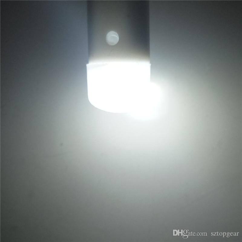 T10 W5W 194 Araba LED Harita Ampuller 1 SMD 2835 Yan Işaretleyici Işık Dönüş Sinyali Kapı Lambası Beyaz Için DC 12 V
