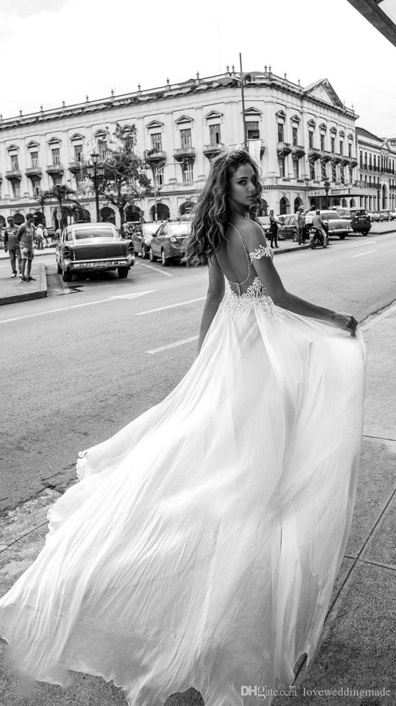 2018 Julie Vino Full Applique Lace Mermaid Wedding Dresses With Detachable Train Tulle Pearls Off Shoulder Sexy Backless Bridal Gowns