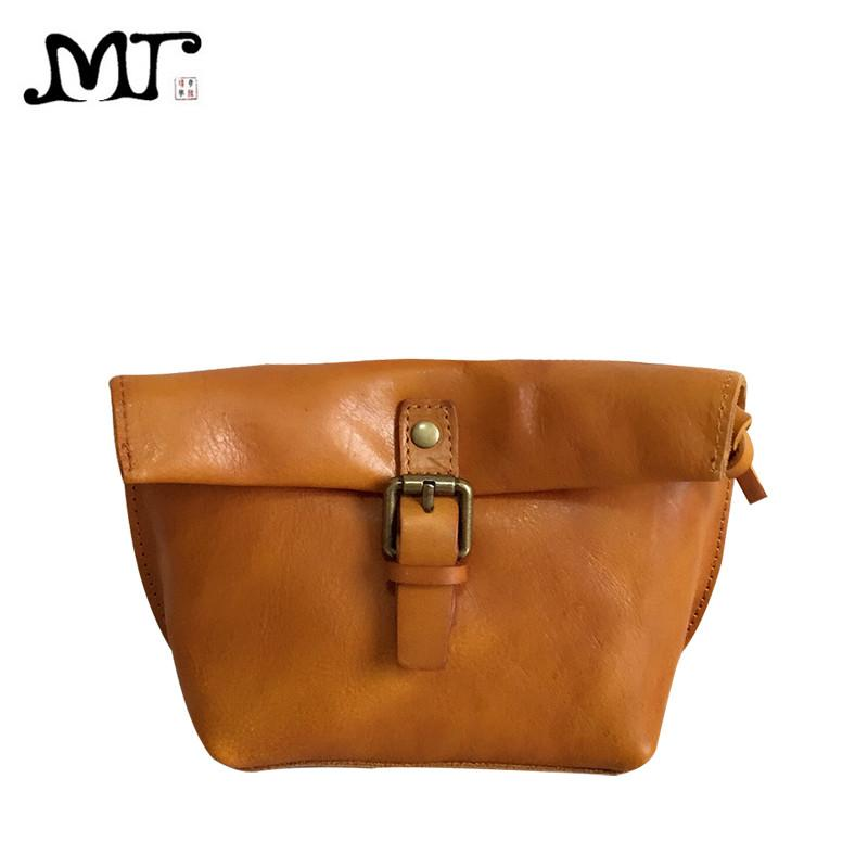 MJ Soft Genuine Leather Women Messenger Bag Female Real Leather Crossbody  Shoulder Bags Small Handbag Retro Phone Bag For Girls Western Purses Leather  ... 75cc05baeb19c