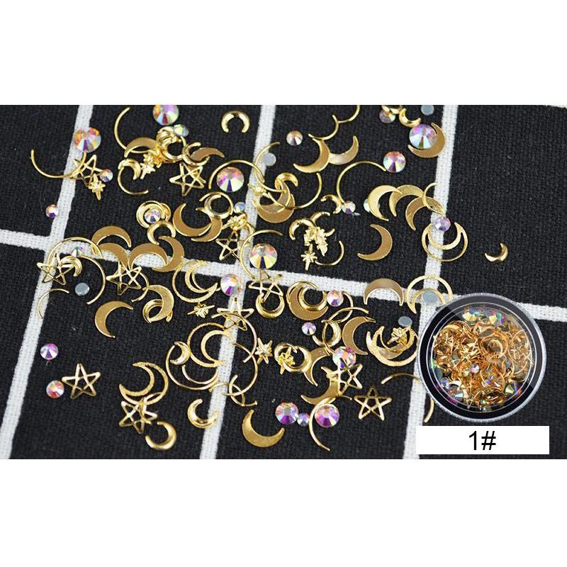 2018 3d Full Beauty Diy Nail Stamping Plate Art Decor Metal Star