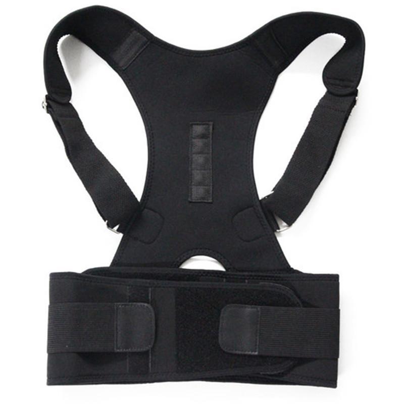 918aa35bef758 Sports Fitness Training Shoulder Back Support Belt for Men Women ...