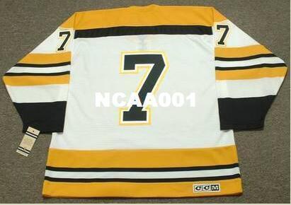... white jersey nhl 7 boston bruins throwback d46dc 5bd87 good 2018 mens 7  phil esposito boston bruins ccm vintage home hockey jersey or custom any ... 0b18f929e