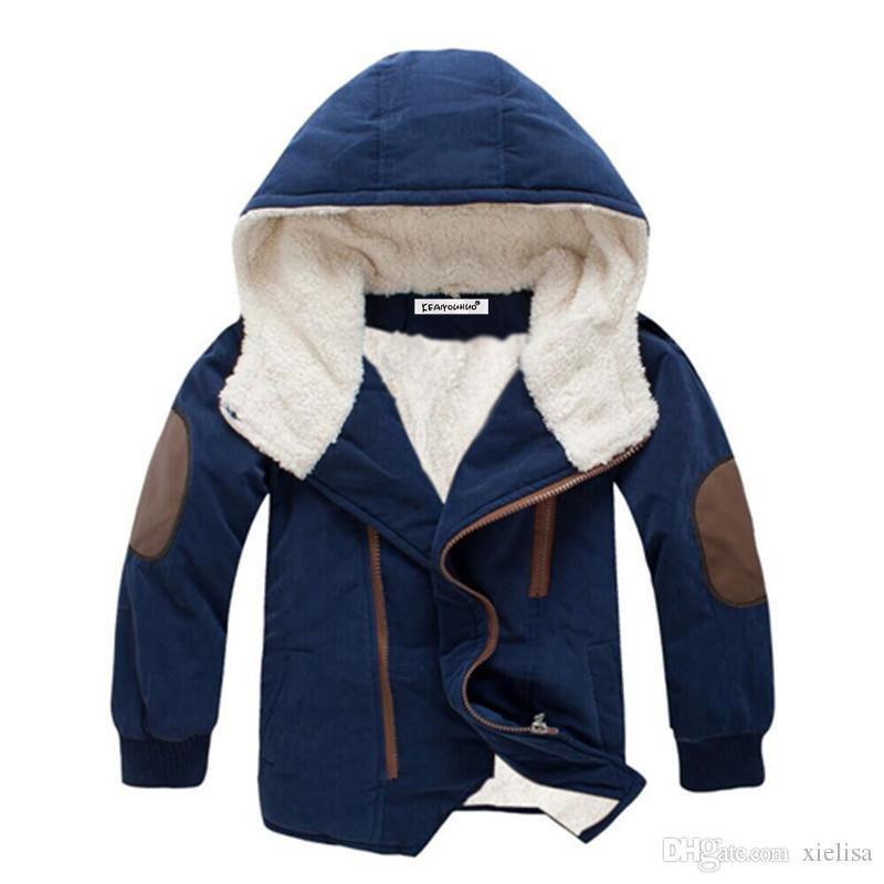 3-12 yrs 2018 Boys Coats Fashion Boys Jacket Hooded Kids Outerwear Clothing Baby Boy Coat Children Jackets For Girls Clothes