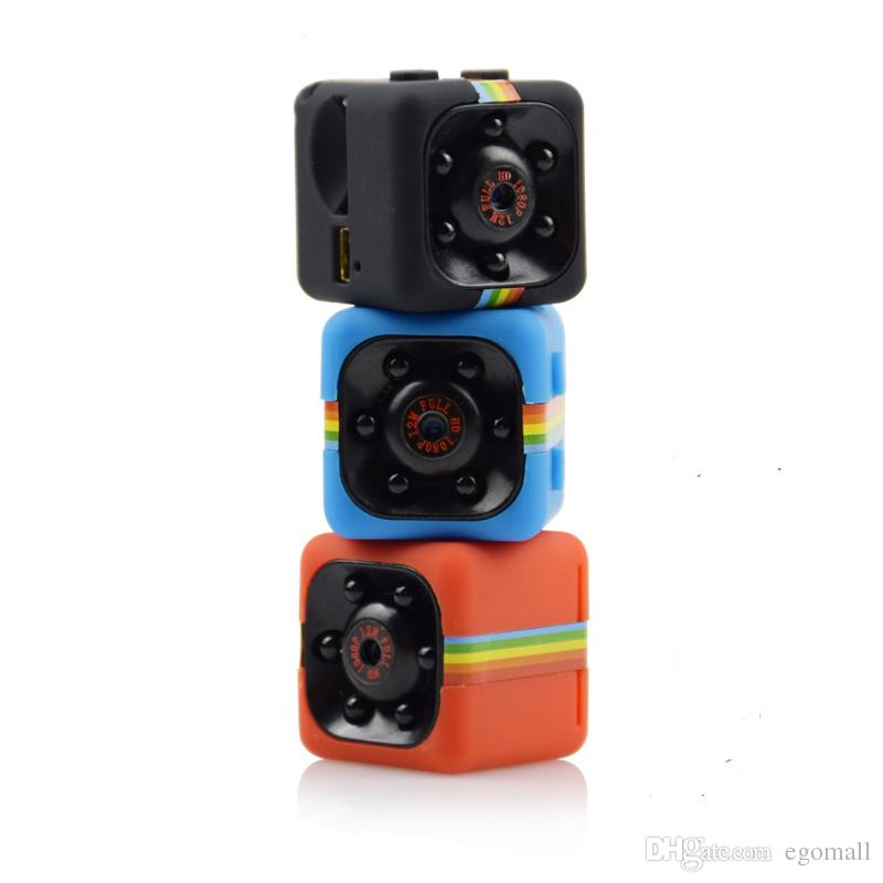 SQ11 Mini Câmera HD 1080 P Night Vision Camcorder DVR Carro Gravador De Vídeo Infravermelho Esporte Câmera Digital Suporte TF Cartão de Câmera DV