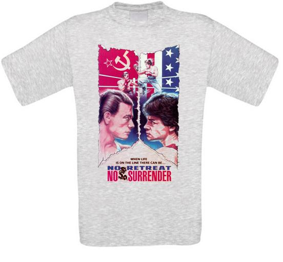 Karate Tiger no. Retreat No Surrender cult movie T-shirt All Sizes NEW