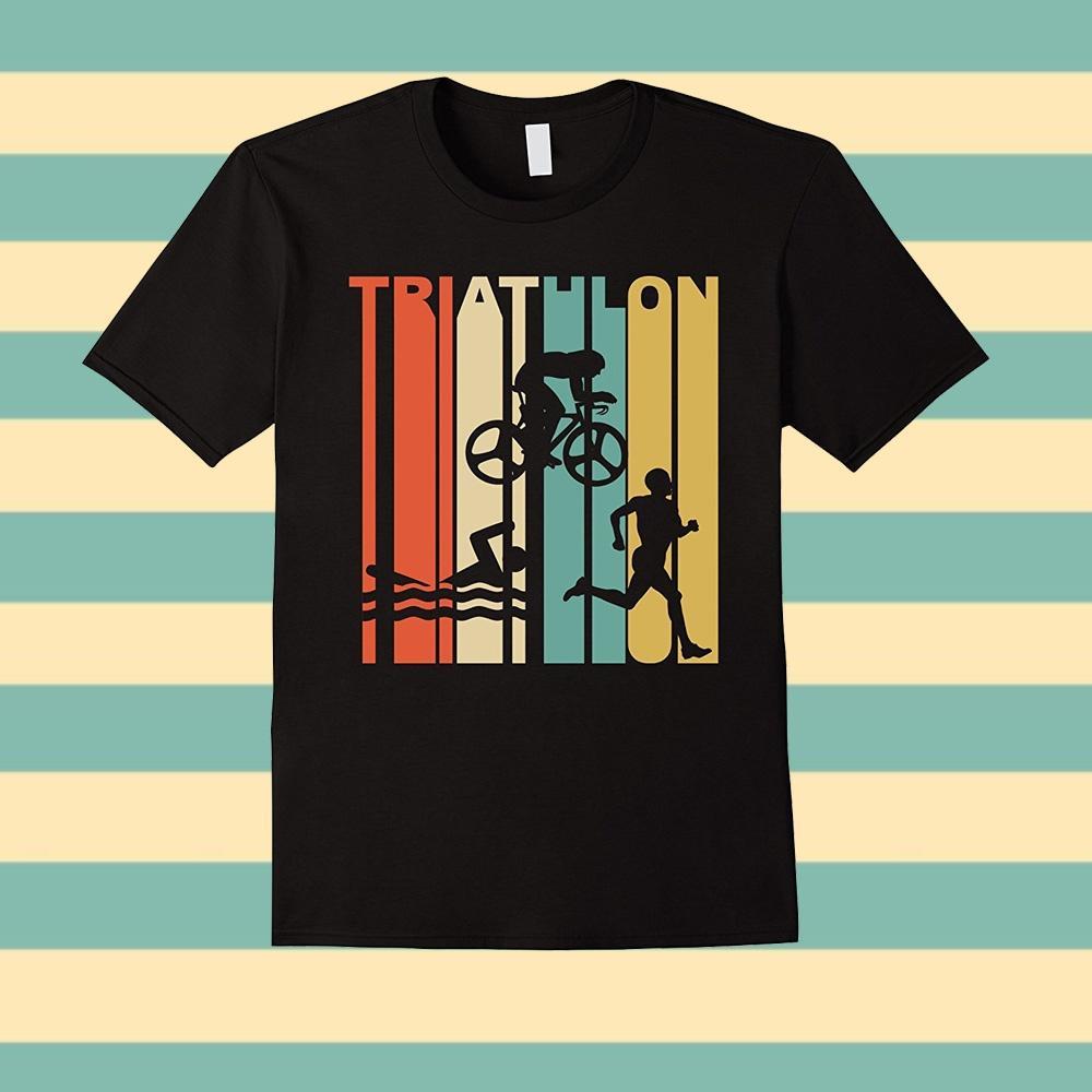 8a6689047 Custom T Shirts Online O Neck Men Short Sleeve Fashion 2016 Vintage 1970'S  Style Triathlon T Shirt Tee Shirts Custom T Shirts T Shirt Printing From ...