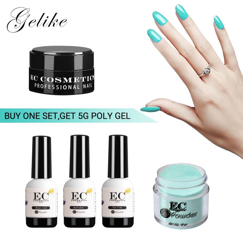 Gelike 10g Dip Powder Nails Dipping Nails Get Stronger Natural Long lasting  Nail No UV Light