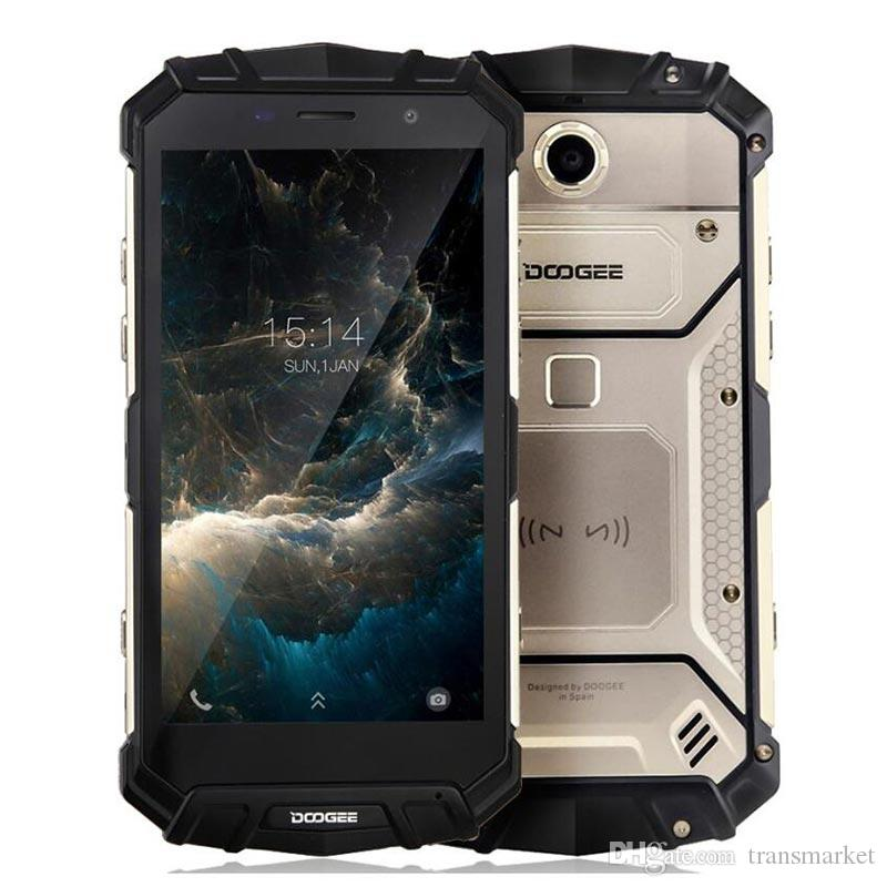 IP68 Water DOOGEE S60 Lite Wireless Charge 5580mAh 12V2A Quick Charge 5.2'' FHD MT6750T Octa Core 4GB 32GB Smartphone 16.0MP hot sale phone