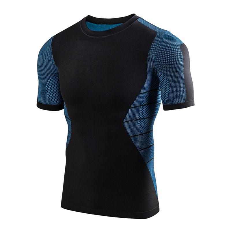 0945ec533 Long Sleeve Sport Shirt Men Quick Dry Men s Running T-shirts Snake ...