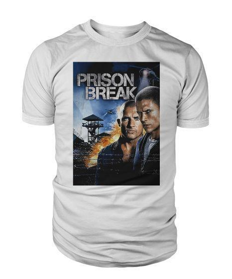 Prison Break T Shirt Michael Scofield Fox River Tshirt Mens Womens Unisex