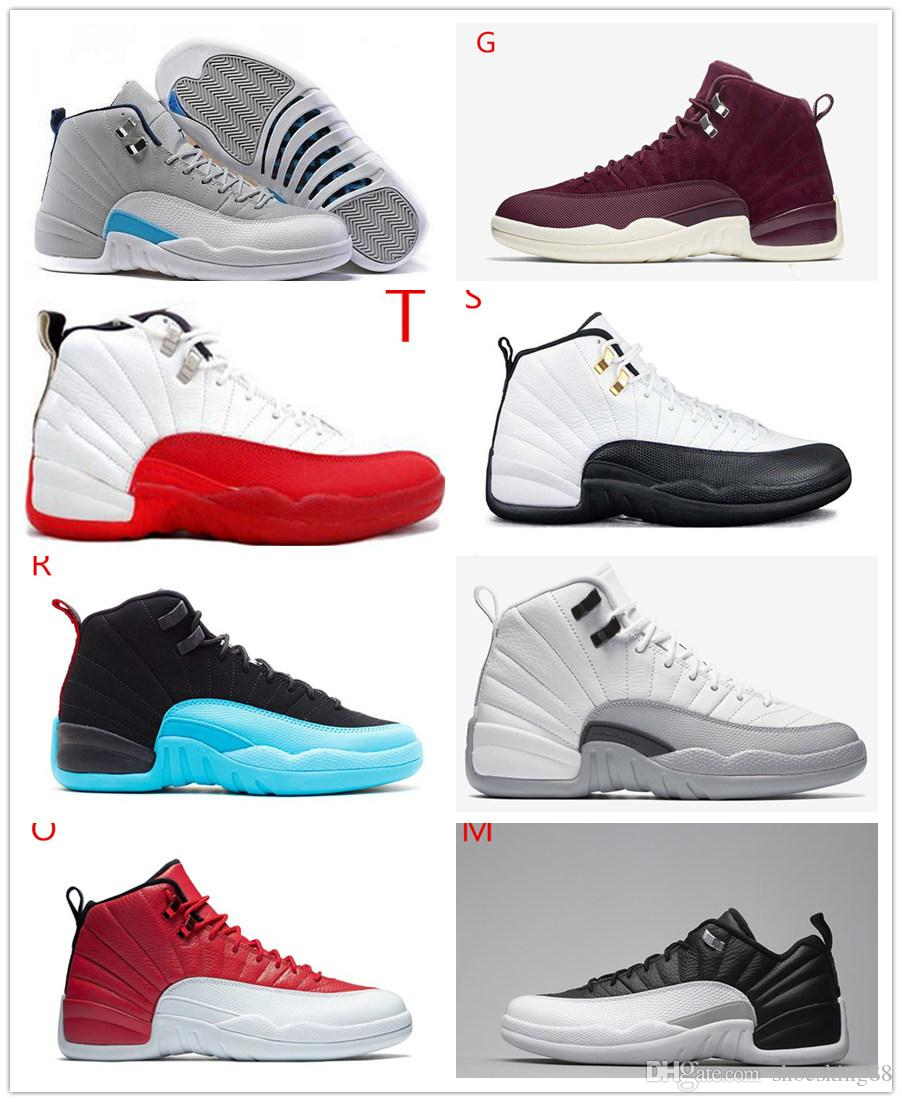 cheap visa payment discounts sale online Sale good Quality 12 12s OVO White Gym Red Dark Grey women Basketball Shoes Taxi Blue Suede Flu Game CNY Sneakers With Box cheap find great eastbay cheap price free shipping extremely rFdHjaSO