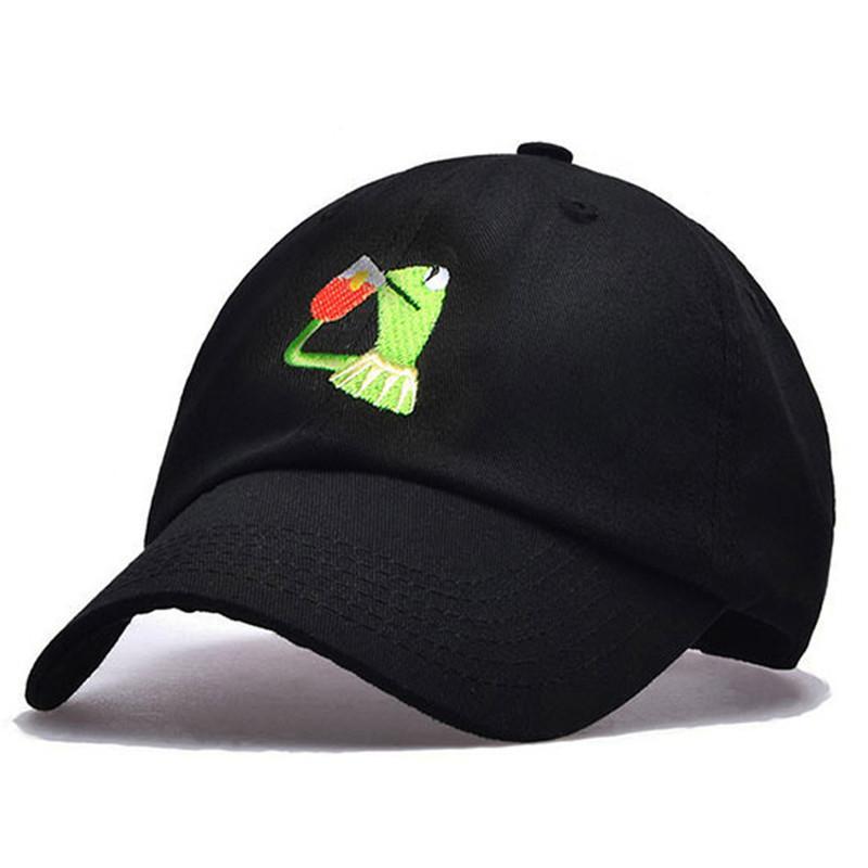 eee77605 Baseball Cap Men Brand For Women Dad Hat Full Cap Sports Bend Visor Frog  Embroidery Snapback Male Bone Fitted Baseball Hats