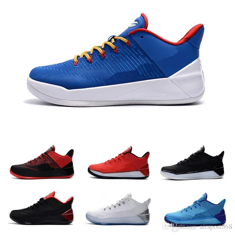 713a3f527e8 2019 Kobe AD Mamba Day A.D. EP Sail Multi Color Mens Basketball Shoes AV3556  100 Size 7 12 With Box Kobe Bryant Sports Sneakers Jordans Shoes Sport Shoes  ...