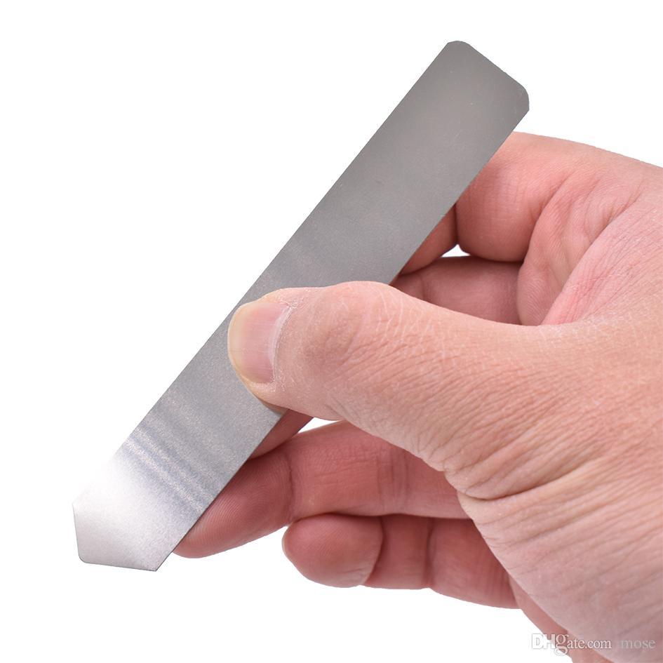 Ferramentas de abertura de aço inoxidável resiliente de metal alavanca crowbar para iphone celular tablet computador habitação habitação substituir ferramenta de bateria