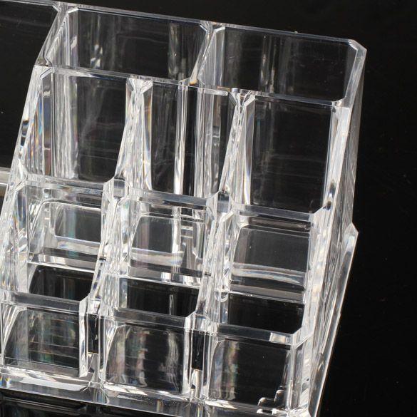 NEW Cosmetic Organizer 2-layer Drawers Acrilico Desk Jewelry Organizer Acrylic Makeup Organizer Arrangement Storage Box