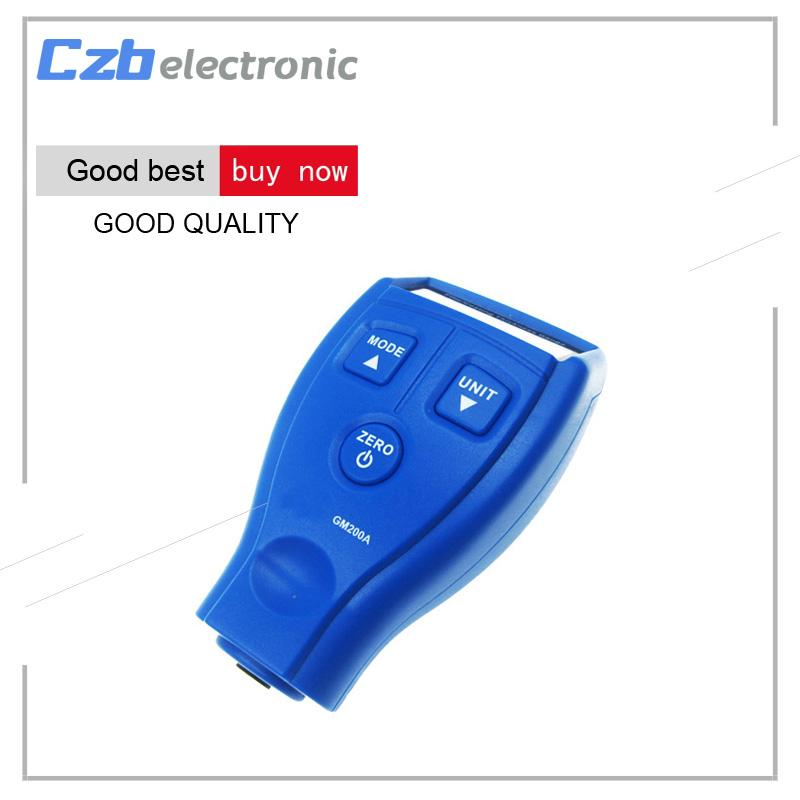 GM200A LCD Digital Car Paint Coating Thickness Tester Gauge Meter