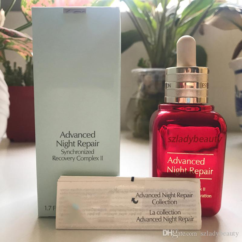 New Limited Edition red and brown bottles 50ml Advanced Night Repaire Deep repaire face cream and lotion moisturizing 660254-1