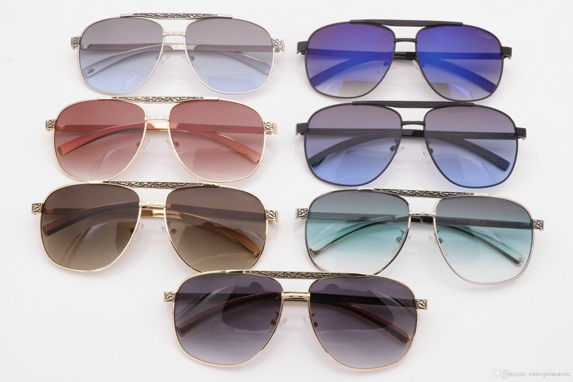 Großhandel Luxury Cart Ier Sonnenbrille Frauen Marke Designer Cart ...