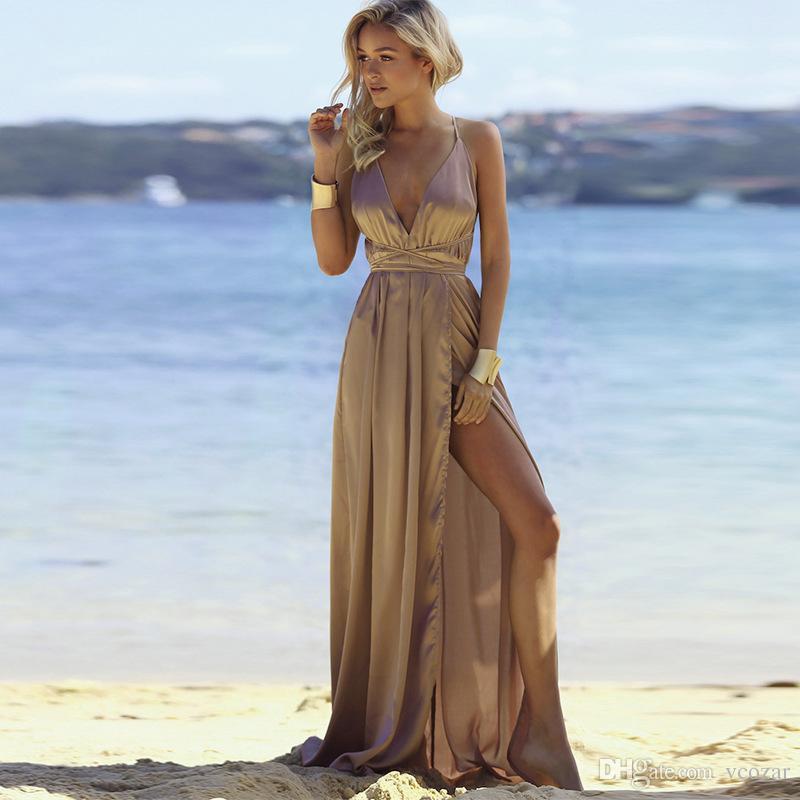 Vestidos Elegantes Para Fiesta En La Playa Vestidos De