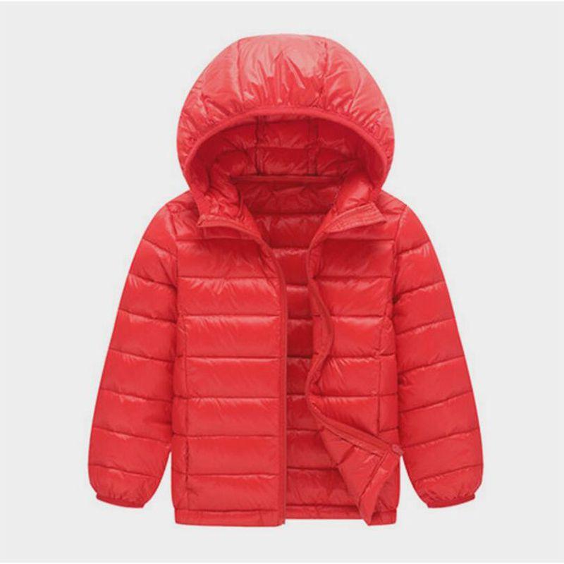 54c634c57cdf 2018 Kids Boys Clothing Winter Down Jacket Cotton Hoodies Thermal ...