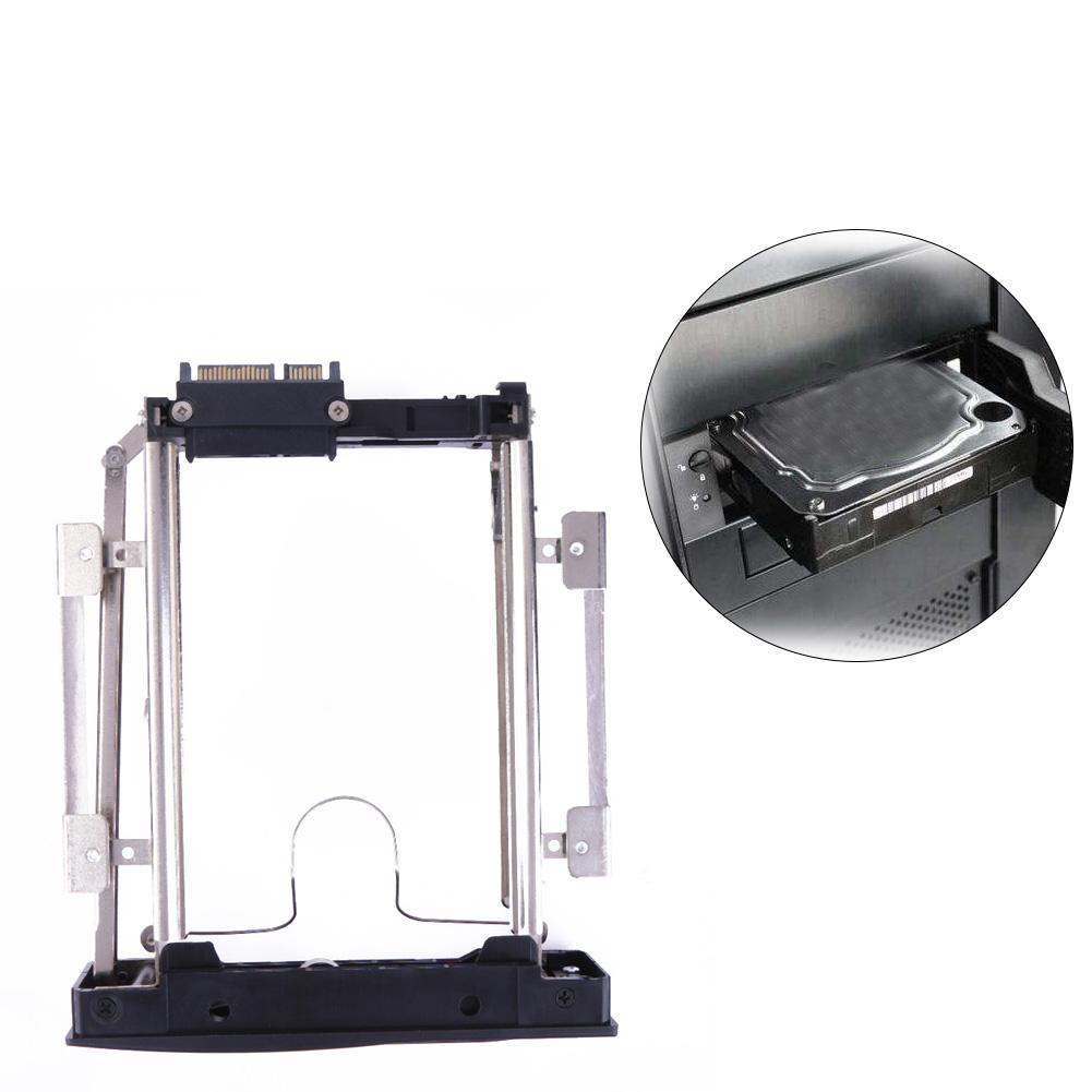 "3.5"" Security Hard Drive Bracket SATA HDD Storage Mobile Rack Bracket Enclosure Caddy Metal HDD Slot with safety lock"