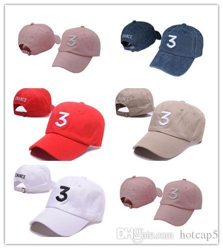 646ab5d7d26 New Design Embroidered Chance The Rapper Chance 3 Hat Black Baseball Cap  Fashion Kanye West Bear Dad Caps Casquette Hip Hop Strapback Big Hats Hat  Stores ...