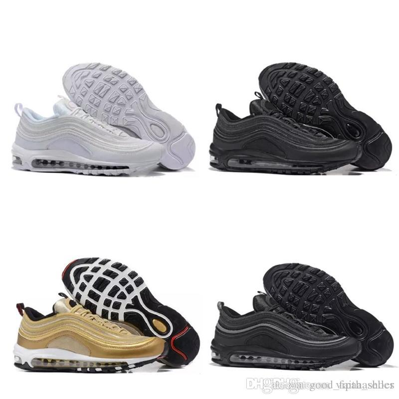 sale retailer e3ed2 e1f34 Nike Air Max Nike 97s Supreme Vapormax Off White Nmd AdiVenta Al Por Mayor  Envío De La Gota 97 Zapatos OG UNDFTD Invicto Blanco Para Mujer Para Hombre  ...
