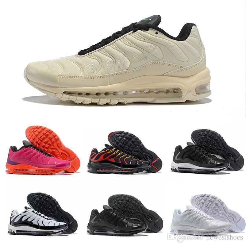 96576b265d263 2018 New Plus 97 TN 97s Mens Women Running Shoes Trainers Sports ...