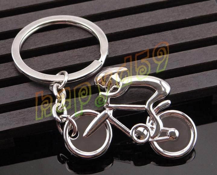 efada4eb7 Compre Criativo De Metal Desportivo Homem Bicicleta Figura Chaveiro Chaveiro  Lembranças De Bicicleta Ciclismo Amante Motociclista AD Partido Presente ...