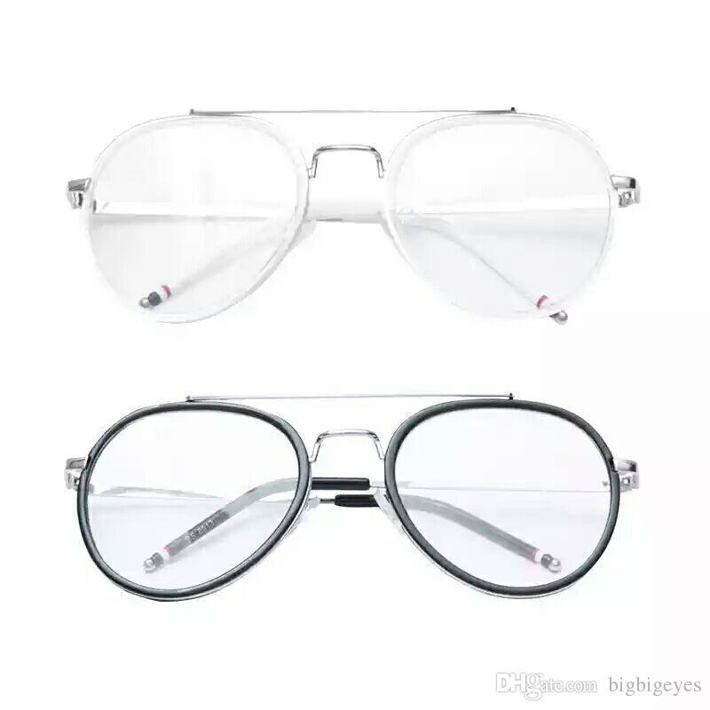 Großhandel 2017 Neue Runde Große Rahmen Gläser Sonnenbrille Mode ...