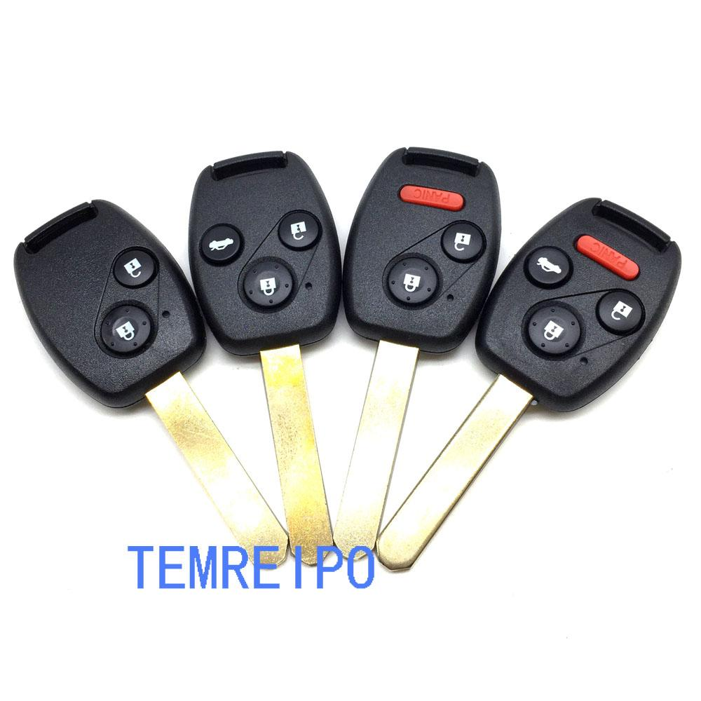 Replacement Remote Control Key Case For Honda Civic Fit Jade City Accord  Crv Crv Car Key Shell Fob Electronic Car Keys Electronic Car Keys  Replacement From ...