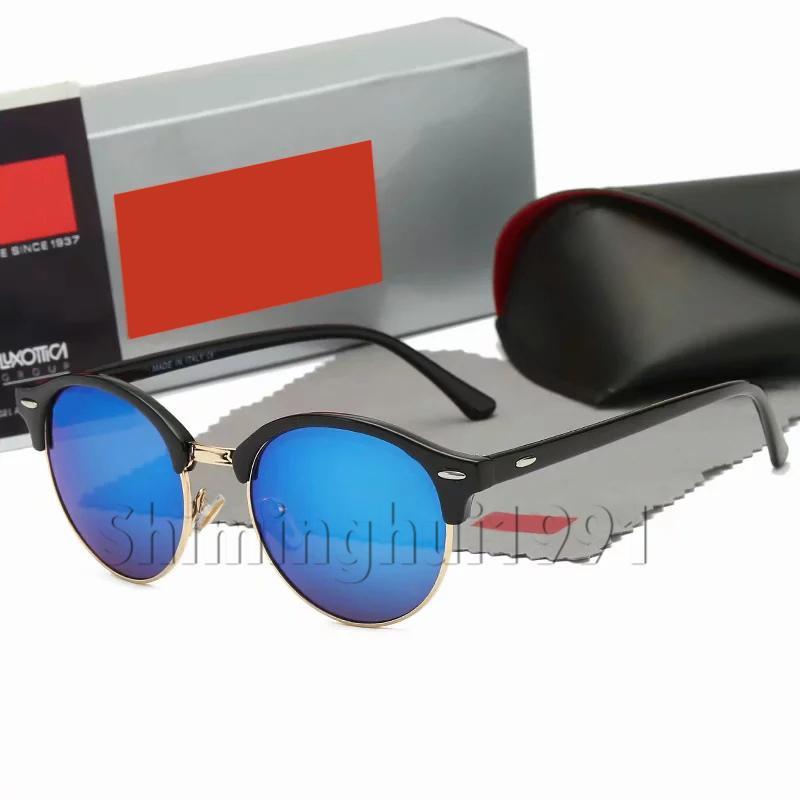 4d65060fa2986 Compre Ray Para Escolher New Arrival Clássico Rodada Óculos De Sol Da Marca  Designer 4246 Moda Óculos De Sol Das Mulheres Dos Homens Espelho Uv400  Lente Com ...